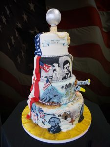 Cake for the Eastern Idaho State Fair 2016 - In God We Trust