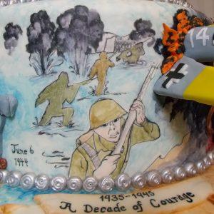 D-Day mural