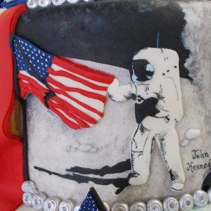 Moon Landing mural