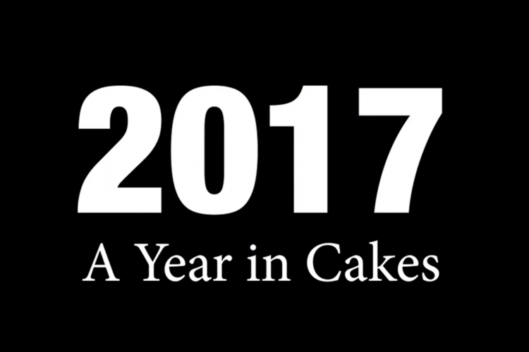 2017 A Year In Cakes