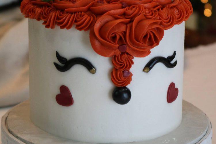 Fox head cake