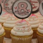 Great to be 8 Baptism Cupcakes