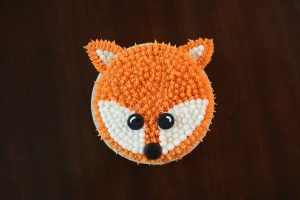 Fox Birthday Cake
