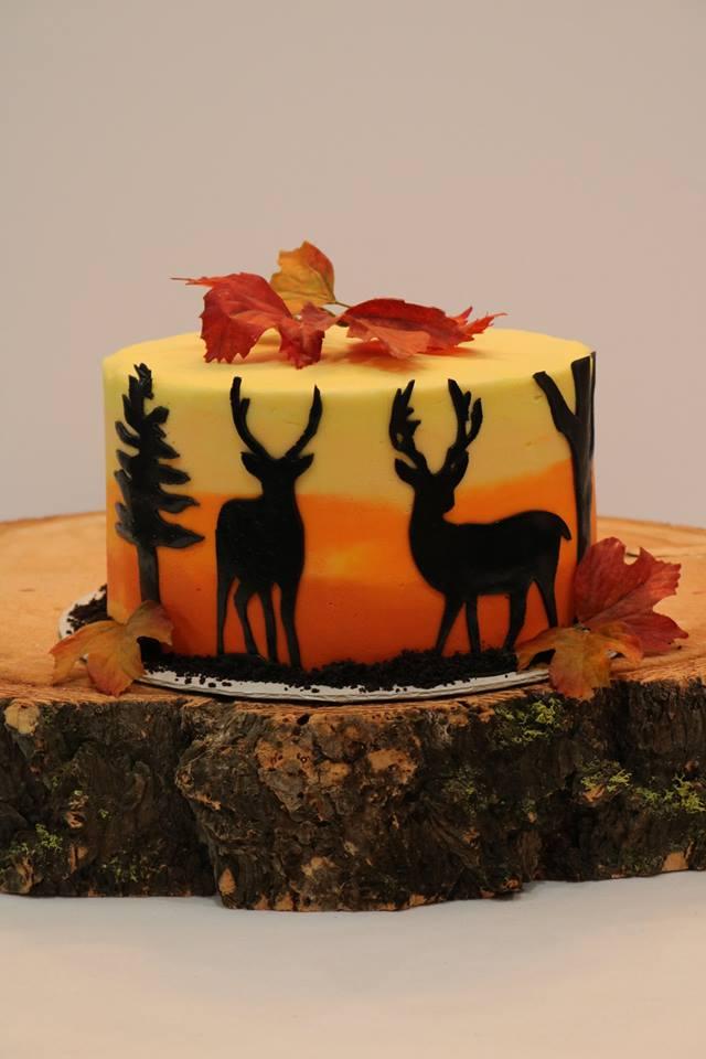 Hunting Themed Birthday Cake Rexburg Cakes