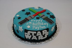 Star Wars Lightsaber Birthday Cake