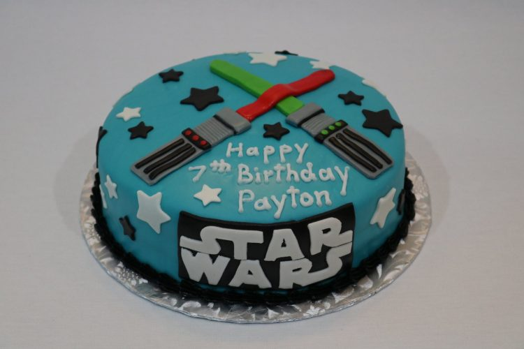 Star Wars Lightsaber Birthday Cake
