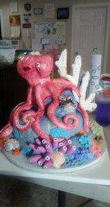 Octopus Cake highlights more corals