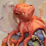 Octopus Cake with large corals