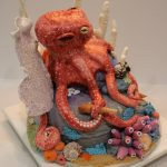 Octopus Cake Finished